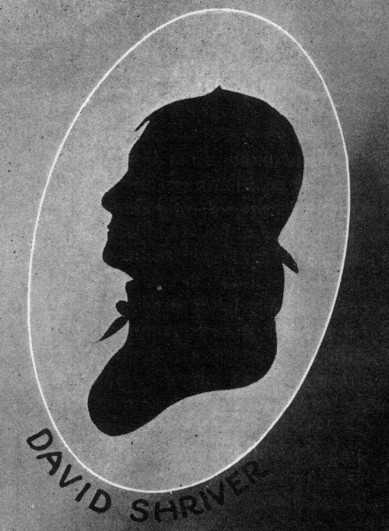 Silhouette of David Shriver