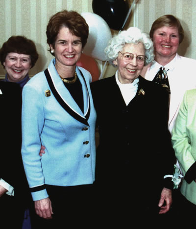 [photo, Kathleen Kennedy Townsend and Florence Peterson Kendall]