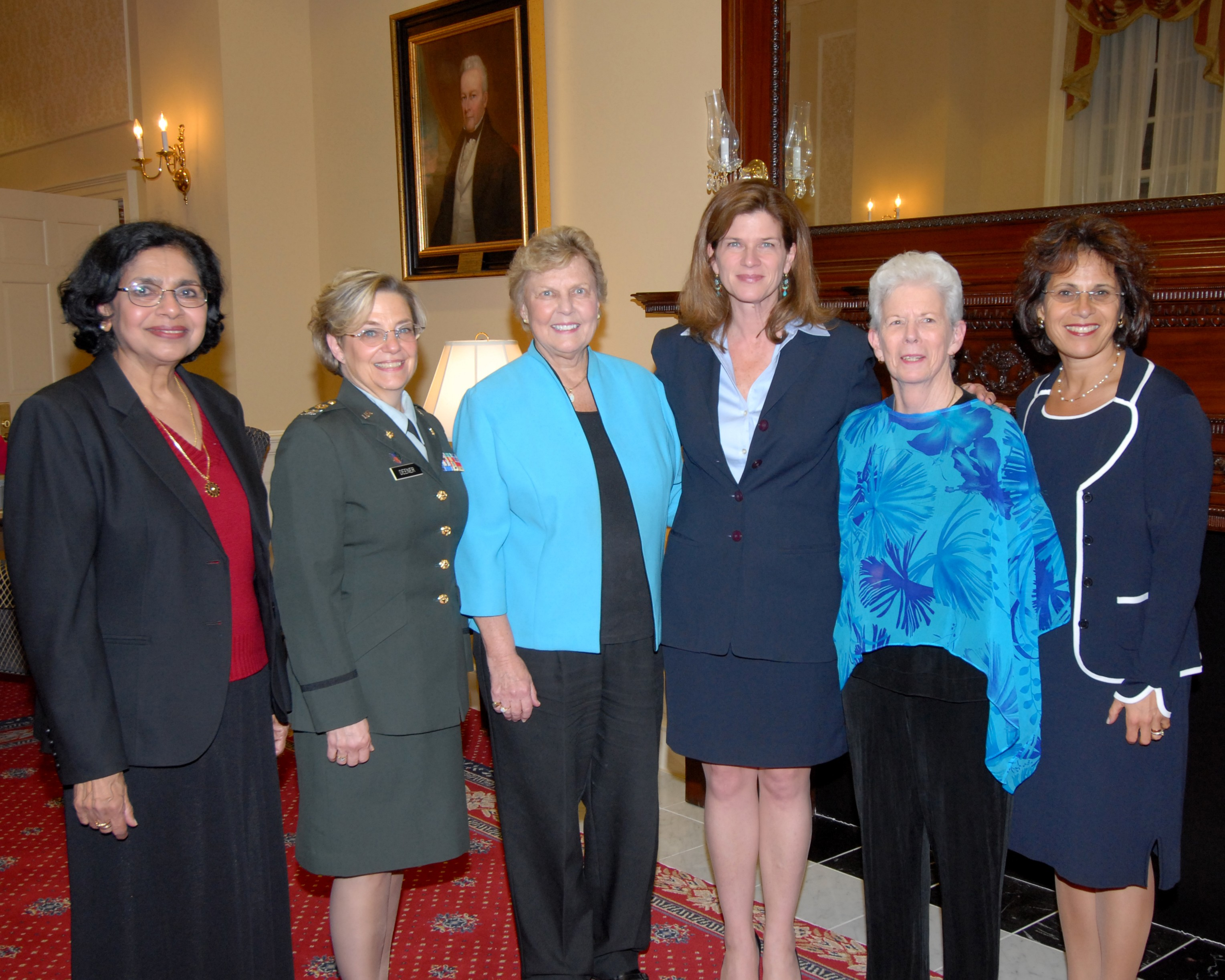 photo, 2007 Maryland Women's Hall of Fame inductees