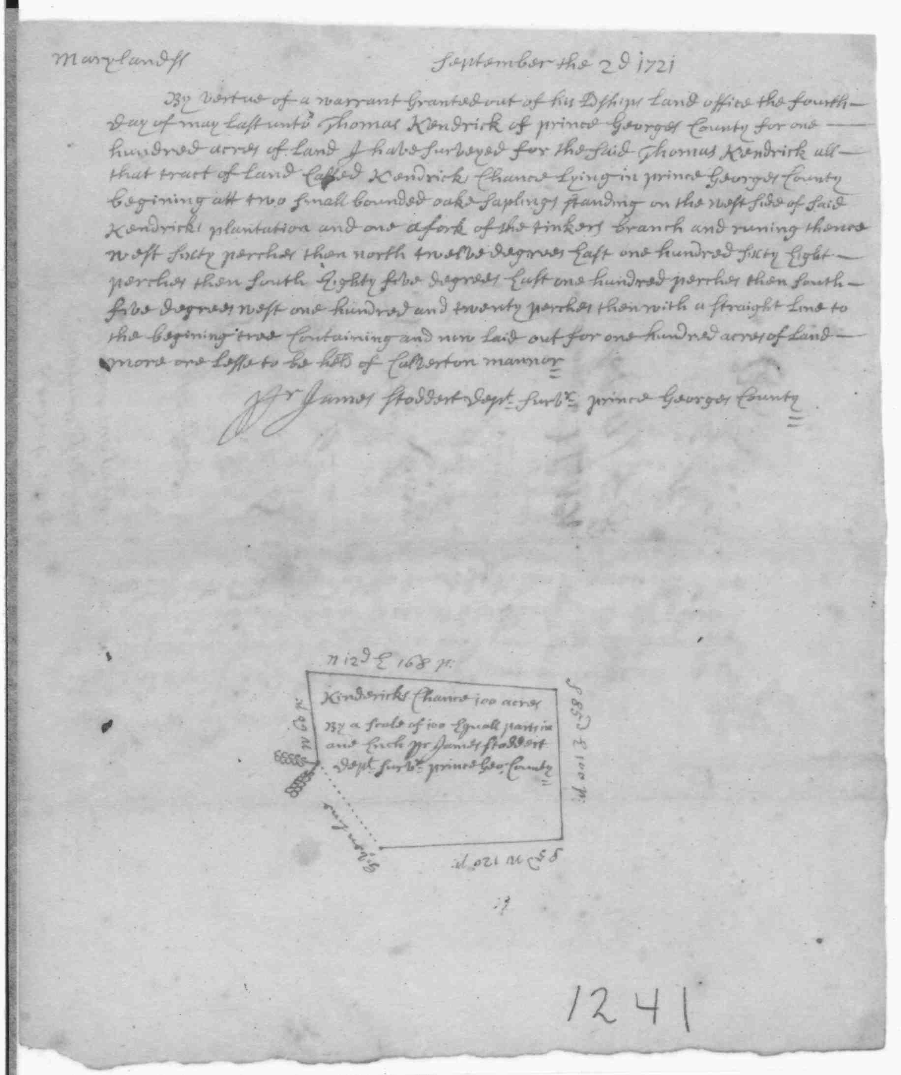 William Jenkins B Bef 1722 Prince Georges County Maryland D 4