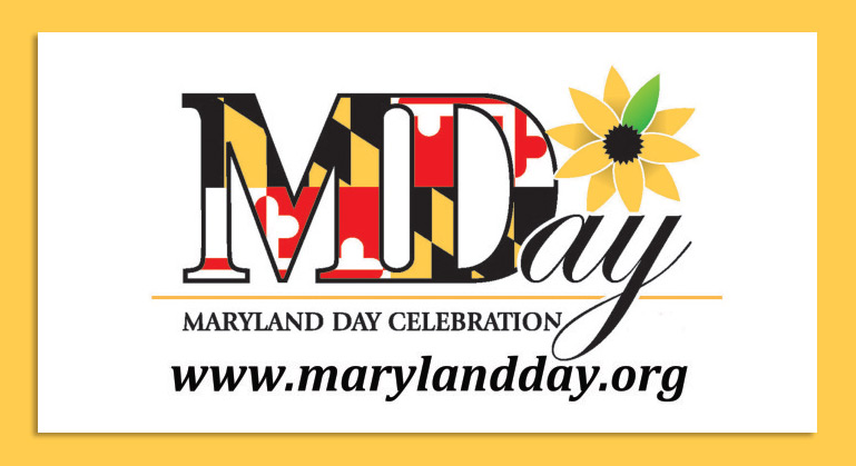 Image of Maryland Day Logo with website www.marylandday.org listed