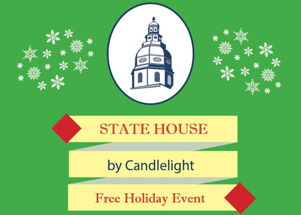State House by Candlelight