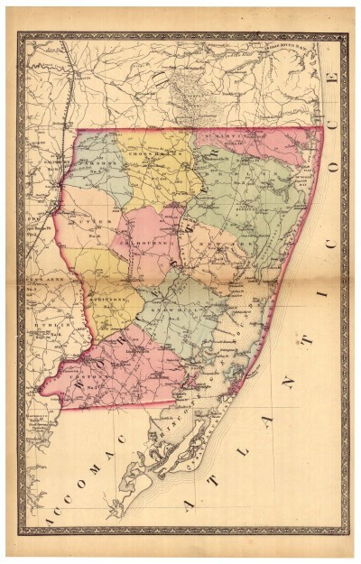 On Demand Prints from the Map Collection Maryland State Archives