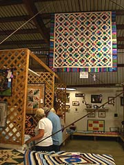 [photo, Quilts, Anne Arundel County Fair, Crownsville, Maryland]