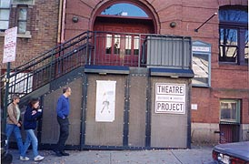 [photo, Baltimore Theatre Project, 45 West Preston St., Baltimore, Maryland]