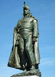[photo, Major George Armistead statue by Edward Berge, Fort McHenry National Monument & Historic Shrine, 2400 East Fort Ave., Baltimore, Maryland]