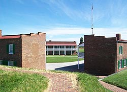 [photo, Fort McHenry National Monument & Historic Shrine, 2400 East Fort Ave., Baltimore, Maryland]
