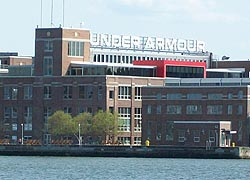 [photo, Under Armour headquarters, Baltimore, Maryland]
