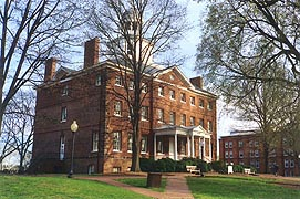 [photo, McDowell Hall, St. John's College, Annapolis, Maryland]