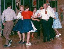 [photo, Square dancers]