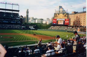 [photo, Oriole Park at Camden Yards, Baltimore, Maryland]