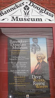 [photo, Banneker-Douglass Museum, Franklin St., Annapolis, Maryland]