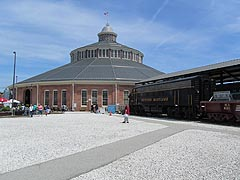 [photo, Baltimore & Ohio Railroad Museum</a><br>  901 West Pratt St. (at Poppleton St.), Baltimore, Maryland]