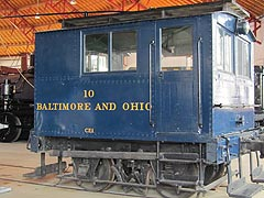 [photo, Baltimore & Ohio Railroad Museum,  901 West Pratt St. (at Poppleton St.), Baltimore, Maryland]