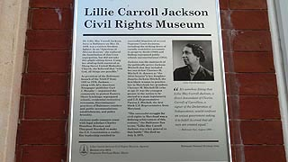 [photo, Lillie Carroll Jackson Civil Rights Museum, 1320 Eutaw Place, Baltimore, Maryland