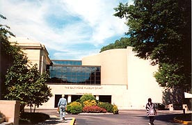 [photo, Baltimore Museum of Art entrance, 10 Art Museum Drive, Baltimore, Maryland]