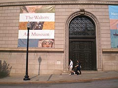 [photo, Walters Art Museum, 600 North Charles St., Baltimore, Maryland]