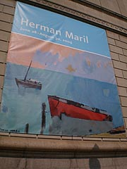 [Herman Maril poster, Walters Art Museum, 600 North Charles St., Baltimore, Maryland ]