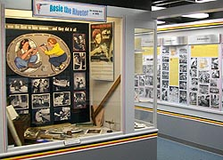 [photo, Rosie the Riveter exhibit, Glenn L. Martin Maryland Aviation Museum, 701 Wilson Point Road, Middle River, Maryland]