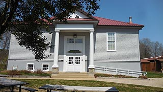 [photo, Administration, Library & Archives Building, Calvert Marine Museum,  Solomons Island Road, Solomons, Maryland]