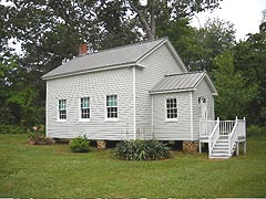 [photo, Port Republic One Room Schoolhouse #7, 3080 Broomes Island Road, Port Republic, Maryland]