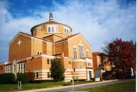[photo, National Shrine of St. Elizabeth Ann Seton, 333 South Seton Ave., Emmitsburg, Maryland]