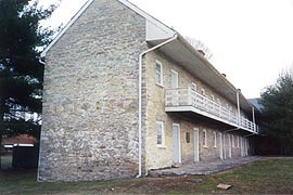 [photo, Hessian Barracks, 101 Clarke Place, Frederick, Maryland]