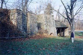 [photo, Catoctin Iron Furnace, 12627 Furnace Road, Thurmont, Maryland]