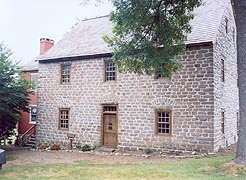 [photo, Schifferstadt Architectural Museum, 1110 Rosemont Ave., Frederick, Maryland]
