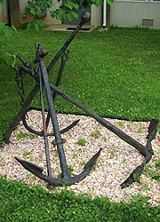 [photo, Anchors, Havre de Grace Maritime Museum, 100 Lafayette St., Havre de Grace, Maryland]