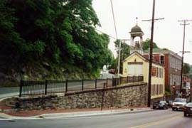 [photo, Firehouse Museum, Church Road (at Main St.), Ellicott City, Maryland]