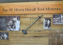 [photo, W. Henry Duvall Tool Museum, Patuxent River Park, 16000 Croom Airport Road, Upper Marlboro, Maryland]
