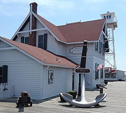 [photo, Ocean City Life-Saving Station Museum, 813 South Atlantic Ave., Ocean City, Maryland]