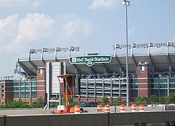 [photo, M & T Bank [Ravens] Stadium, Baltimore, Maryland]