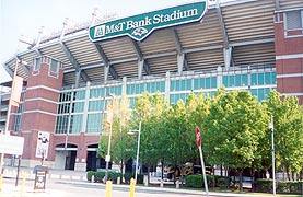 [photo, M & T Bank Stadium, West Hamburg St., Baltimore, Maryland]