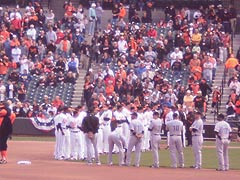 [photo, Baltimore Orioles and Toronto Blue Jays, Oriole Park at Camden Yards, Baltimore, Maryland]