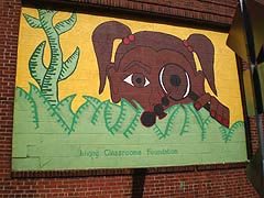 [photo, Wall mural, Aliceanna St., Baltimore, Maryland]