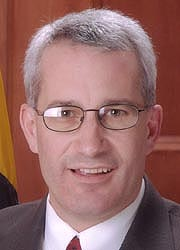 [photo, Patrick J. Hogan, State Senator]
