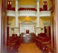 [photo, Senate Chamber, State House, Annapolis, Maryland]