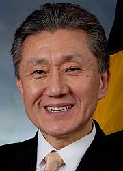 [photo, Jimmy Rhee, Special Secretary of Minority Affairs]