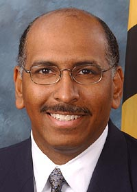 [photo, Michael S. Steele, Maryland Lt. Governor]