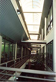[photo, Interior, Wayne A. Cawley, Jr. Building, 50 Harry S Truman Parkway, Annapolis, Maryland]
