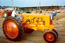 [photo, Tractor pull event, Cecil County Fair, Fair Hill, Maryland]