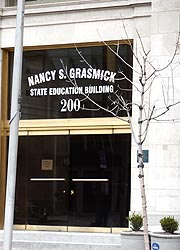 [photo, Nancy S. Grasmick State Education Building, 200 West Baltimore St., Baltimore, Maryland]