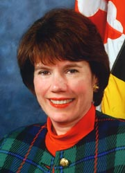 [photo, Lynn Y. Buhl, Maryland Acting Secretary of the Environment]