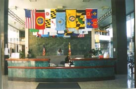 [photo, Lobby, 301 West Preston St., Baltimore, Maryland]