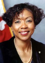[photo, Emelda P. Johnson, Maryland Secretary of Human Resources]