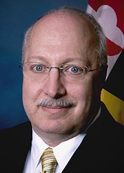 [photo, Elliot H. Schlanger, Maryland Secretary of Information Technology]
