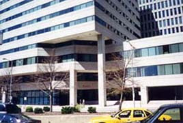 [photo, One Plaza Center, 120 West Fayette St., Baltimore, Maryland]