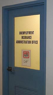[photo, Unemployment Insurance Office, 1100 North Eutaw St., Baltimore, Maryland]